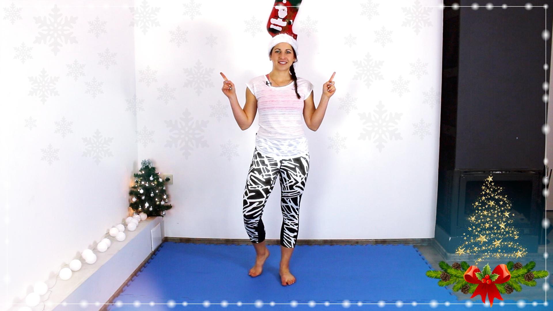 Świąteczny trening na POŚLADKI