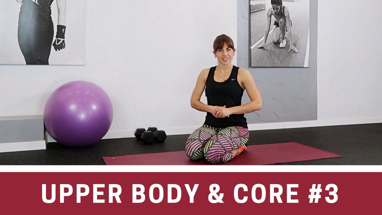 UPPER BODY & CORE #3