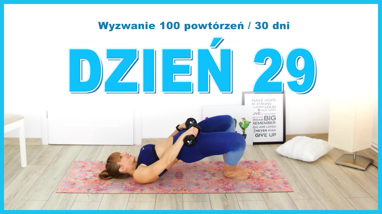 Dzień 29: Wznosy bioder ze złączonymi stopami | Wyzwanie 100x