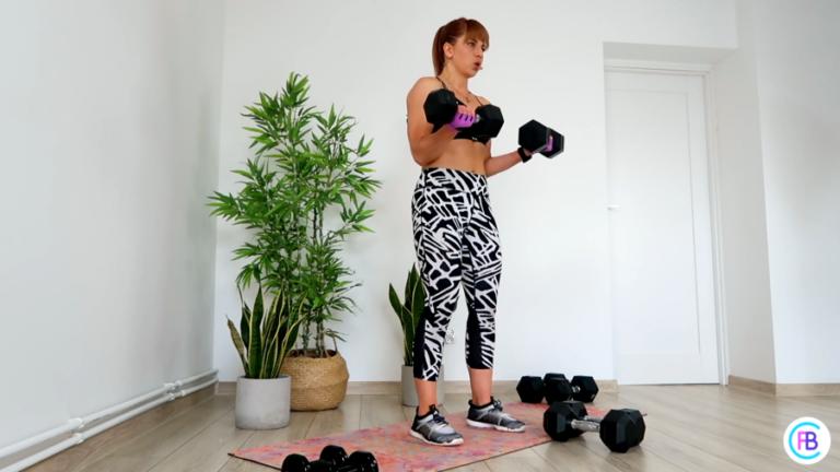 Dzień 9 – Plecy / Biceps